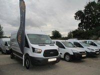2016 FORD TRANSIT 2.0 TDCi 130ps L3  H2 Van LWB MED ROOF £13650.00