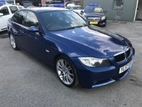 2008 BMW 3 SERIES 2.0 320D M SPORT 4d 174 BHP (TRADE CLEARANCE)GREAT CONDITION IN BLUE WITH 144000 MILES £2500.00