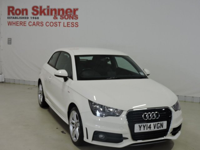 View our 2014 14 AUDI A1 (04)   1.6 TDI S LINE 3d 105 BHP