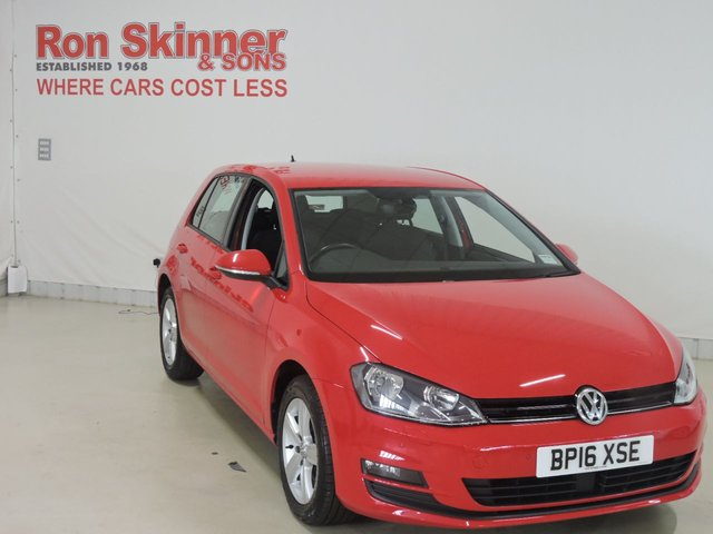View our 2016 16 VOLKSWAGEN GOLF 2.0 MATCH EDITION TDI BMT 5d 148 BHP
