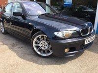 2004 BMW 3 SERIES 3.0 330I SPORT 4d AUTO 228 BHP £2850.00