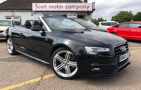 2013 AUDI A5 2.0 TDI S Line Special Edition 2 door Convertible Automatic  £14199.00