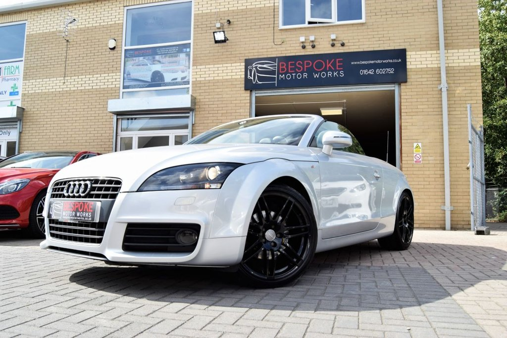 USED 2011 60 AUDI TT 2.0 TFSI S LINE SPECIAL EDITION 200 BHP