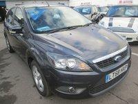 2008 FORD FOCUS  ZETEC 5d 125 BHP  £2895.00