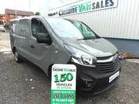 2016 VAUXHALL VIVARO 1.6 2700 L1H1 CDTI 89 BHP NO VAT TO PAY FSH £9995.00