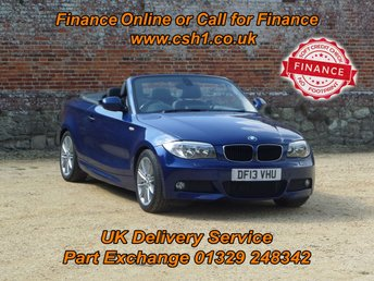 2013 BMW 1 SERIES 2.0 118D M SPORT 2d 141 BHP £9285.00