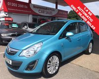 2011 VAUXHALL CORSA 1.4 SE 5 DOOR AUTOMATIC 98 BHP *ONLY 36,000 MILES* £5695.00