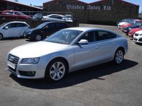 USED 2010 10 AUDI A5 2.0 TFSI Sportback S Tronic quattro SE FULL HISTORY AND LOW MILES