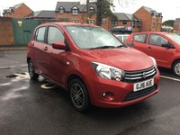 USED 2016 16 SUZUKI CELERIO 1.0 SZ4 5d AUTO 67 BHP AUTOMATIC THAT IS EXCEPTIONALLY CHEAP TO RUN, LOW CO2 EMISSIONS, £0 ROAD TAX, AND EXCELLENT FUEL ECONOMY. EXCELLENT SPECIFCATION INCLUDING AIR CONDITIONING, ALLOY WHEELS, AUXILLIARY/USB! SUZUKI WARRANTY TO 03/2019 AND ONLY 8251 MILES!