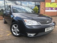 USED 2007 07 FORD MONDEO 1.8 EDGE 16V 5d 124 BHP