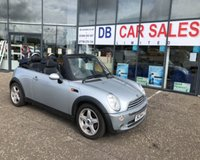 USED 2004 54 MINI CONVERTIBLE 1.6 COOPER 2d 114 BHP NO DEPOSIT AVAILABLE, DRIVE AWAY TODAY!!