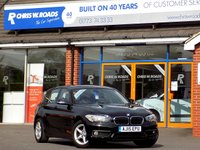 USED 2015 15 BMW 1 SERIES 1.5 116D ED PLUS 5dr  ** Sat Nav + ZERO Road Tax **