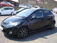 USED 2012 12 MAZDA 2 1.3 VENTURE EDITION ROAD TAX ONLY £30 A YEAR