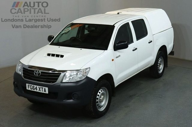 2014 64 TOYOTA HI-LUX 2.5 ACTIVE 4X4 D-4D DCB 4d 142 BHP MWB AIR CON PICK UP AIR CONDITIONING / SPARE KEY