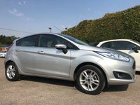 2017 FORD FIESTA 1.25 ZETEC 5d STILL WITH MANUFACTURERS WARRANTY  £8250.00