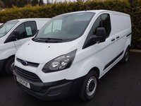 USED 2015 15 FORD TRANSIT CUSTOM 2.2 270 LR P/V 1d 99 BHP