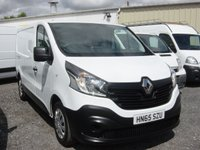 2015 RENAULT TRAFIC 1.6 SL29 BUSINESS ENERGY DCI S/R P/V 1d 120 BHP £9495.00