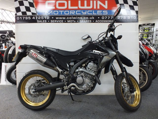 View our HONDA CRF250M