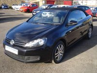 USED 2012 62 VOLKSWAGEN GOLF 1.6TDI BlueMotion Tech S Convertible Stop/Start ROAD TAX ONLY £30 A YEAR