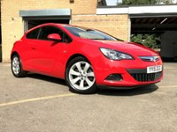 2015 VAUXHALL ASTRA 1.4 GTC SPORT S/S 3d 1 OWNER FROM NEW, ONLY 35K 3 SERVICES  £6490.00