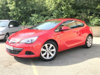 2015 VAUXHALL ASTRA 1.4 GTC SPORT S/S 3d 1 OWNER FROM NEW, ONLY 35K 3 SERVICES  £6990.00