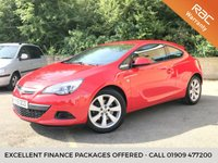 2015 VAUXHALL ASTRA 1.4 GTC SPORT S/S 3d 1 OWNER FROM NEW, ONLY 35K 3 SERVICES  £7690.00