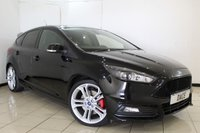 USED 2016 16 FORD FOCUS 2.0 ST-3 TDCI 5DR 183 BHP FULL SERVICE HISTORY + HEATED LEATHER SEATS + SAT NAVIGATION + BLUETOOTH + CRUISE CONTROL + PARKING SENSOR + MULTI FUNCTION WHEEL + CLIMATE CONTROL + 19 INCH ALLOY WHEELS