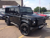 2013 LAND ROVER DEFENDER 2.2 TD XS UTILITY WAGON 1d 122 BHP £28999.00