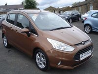 USED 2013 13 FORD B-MAX 1.4 ZETEC ONE OWNER WITH SERVICE HISTORY