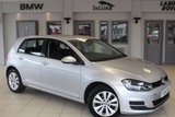 USED 2014 14 VOLKSWAGEN GOLF 1.6 SE TDI BLUEMOTION TECHNOLOGY 5d 103 BHP FULL VW SERVICE HISTORY + FREE ROAD TAX + TOUCH SCREEN MONITOR + BLUETOOTH + 16 INCH ALLOYS + DAB RADIO + CRUISE CONTROL + AIR CONDITIONING