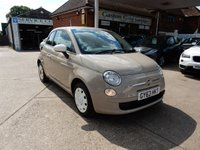 USED 2013 63 FIAT 500 1.2 COLOUR THERAPY 3d 69 BHP FULL HISTORY,TWO KEYS,AIR CON,USB AND AUX PORT