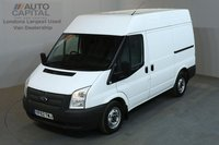 USED 2013 62 FORD TRANSIT 2.2 280 99 BHP L1 H2 SWB MEDIUM ROOF AIR CON ONE OWNER, SERVICE HISTORY