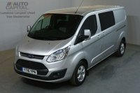 USED 2016 16 FORD TRANSIT CUSTOM 2.2 290 LIMITED DCB 6d 125 BHP AIRCON L2H1 LWB 6 SEATER COMBI VAN AIR CONDITIONING
