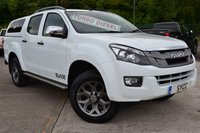 2014 ISUZU D-MAX 2.5 TD BLADE DCB 5d 164 BHP TWIN TURBO ~ COLOUR CANOPY ~ NAV ~ LEATHER £15799.00