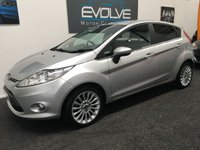 USED 2012 12 FORD FIESTA 1.4 TITANIUM TDCI 5d 69 BHP £20 TAX! FSH! LONG MOT! HIGH MPG! TITANIUM!