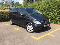 USED 2008 58 MERCEDES-BENZ VIANO 3.5 COMPACT AMBIENTE 7STR 5d AUTO 258 BHP Sun Roofs, Electric Side Doors, Heated Front Seats