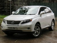 USED 2009 09 LEXUS RX 3.5 450H SE-I 5d AUTO 249 BHP