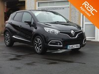 USED 2013 63 RENAULT CAPTUR 1.5 DYNAMIQUE S MEDIANAV ENERGY DCI S/S 5d 90 BHP Bluetooth , Navigation, Cruise control , Zero road tax