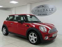 USED 2009 09 MINI HATCH ONE 1.4 ONE 3d 94 BHP FULL HISTORY, MOT 17.8.19, PEPPER PACK, LIGHTWEIGHT ALLOYS