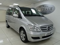 USED 2014 14 MERCEDES-BENZ VIANO 2.1 AMBIENTE CDI BLUEEFFICENCY 5d 163 BHP 1 OWNER, FULL MERCEDES HISTORY, FULL LEATHER, 7 SEATS