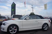 USED 2010 59 BMW 1 SERIES 2.0 118I SPORT 2d CONVERTIBLE 141 BHP
