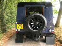 USED 2010 10 LAND ROVER DEFENDER HARDTOP 2.4 TDCI PUMA **TAMAR BLUE**S.V EDITION**
