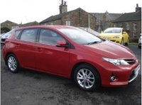 USED 2013 13 TOYOTA AURIS 1.6 V-Matic Icon LOW MILEAGE & FULL HISTORY