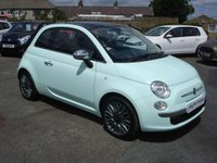 USED 2015 15 FIAT 500  1.2 CULT ROAD TAX ONLY £30 A YEAR