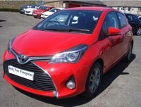 USED 2014 64 TOYOTA YARIS 1.33 VVT-i Icon ROAD TAX ONLY £30 FULL HISTORY