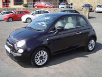 USED 2015 15 FIAT 500  1.2 LOUNGE £30 ROAD TAX FULL HISTORY & 1 OWNER