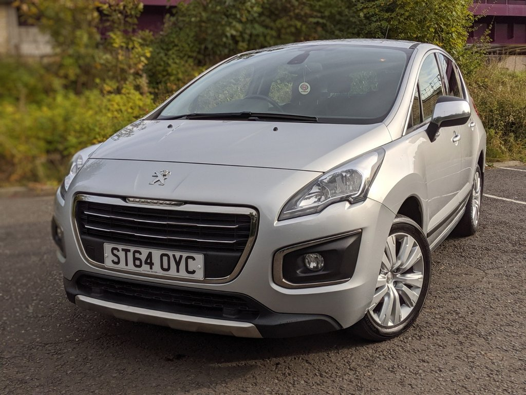 USED 2014 64 PEUGEOT 3008 1.6 HDI ACTIVE 5d 115 BHP LOW MILEAGE