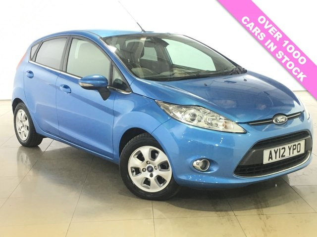 View our 2012 12 FORD FIESTA 1.6 TITANIUM ECONETIC TDCI 5d 94 BHP