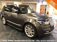 USED 2013 63 LAND ROVER RANGE ROVER  4.4 SDV8 VOGUE SE AUTO DIESEL UK DELIVERY* RAC APPROVED* FINANCE ARRANGED* PART EX