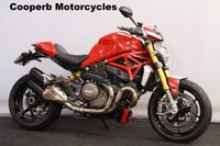2015 DUCATI MONSTER M1200 S STRIPE   £8999.00